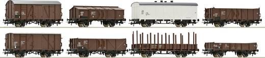 Roco 44006 H0 8er-Set Güterwagen der ÖBB