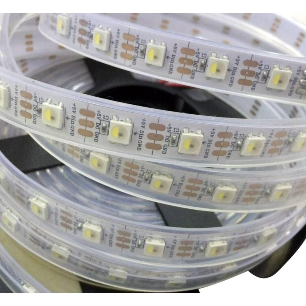 Thomsen LED-Streifen mit Stecker/Buchse 5 V 1 m RGBW STRIP-1M-144 ...