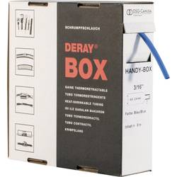 Zmršťovacia bužírka bez lepidla DSG Canusa DERAY-Box 8610048502, 2:1, 4.80 mm, modrá, 8 m