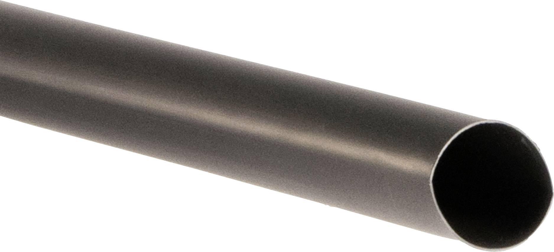 5m Akku PVC Schrumpfschlauch Meterware 32 /> 16mm ; Schwarz