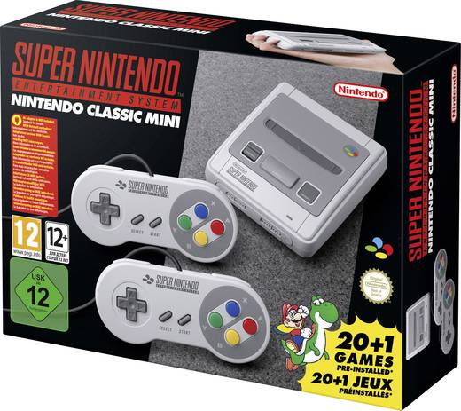 Nintendo Classic Grau inkl. 2 Controller