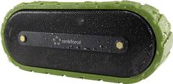Bluetooth® reproduktor Renkforce AdventureBox1, černozelená