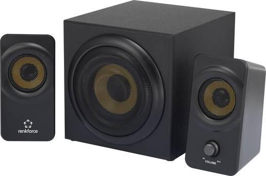 2.1 PC-Lautsprecher Kabelgebunden Renkforce RF-PCL-MESH2.1 8 W Schwarz