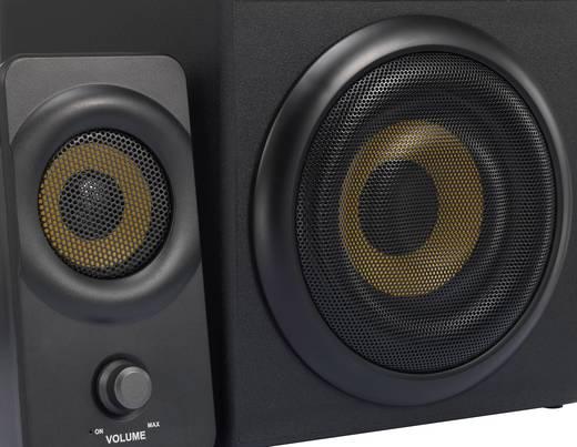 Renkforce RF-PCL-MESH2.1 2.1 PC-Lautsprecher Kabelgebunden 8 W Schwarz