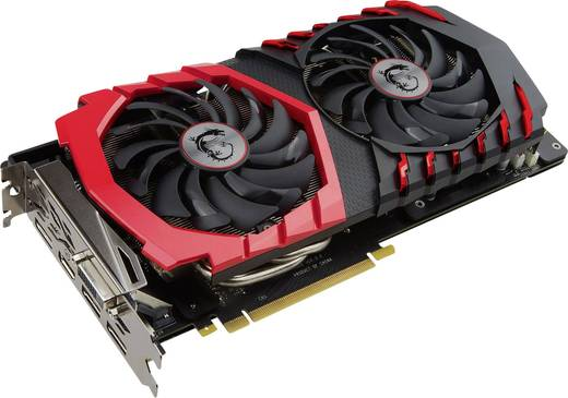 Grafikkarte MSI Gaming Nvidia GeForce GTX1060 Gaming X+ 6 GB GDDR5-RAM PCIe x16 HDMI™, DVI, DisplayPort