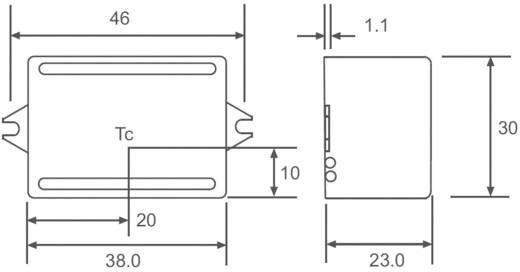 LED-Konstantstromquelle 3 W 350 mA 12 V/DC Recom Lighting RACD03-350 Betriebsspannung max.: 264 V/AC