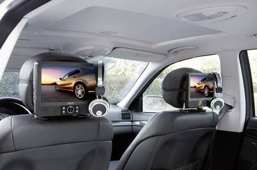 kopfst tzen dvd player mit 2 monitoren aeg dvd4556. Black Bedroom Furniture Sets. Home Design Ideas