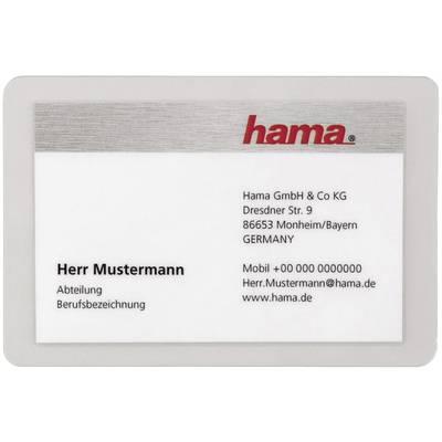 Hama Laminierfolie 95 X 60 Mm Visitenkarten 80 Micron 100 St