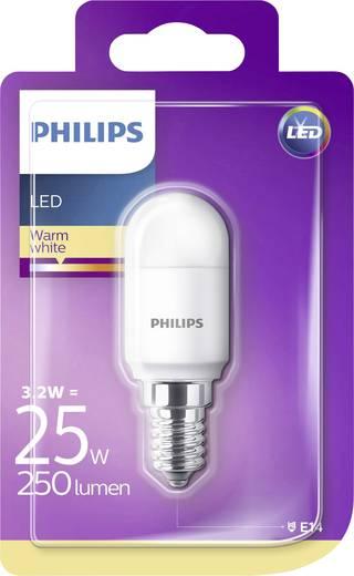 led k hlschrank leuchtmittel 71 mm philips lighting 230 v e14 3 2 w warm wei 1 st. Black Bedroom Furniture Sets. Home Design Ideas