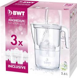 Carafe filtrante BWT 0815484 2.6 l blanc 1 set