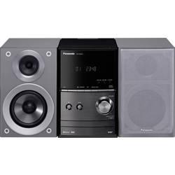 Stereo systém Panasonic SC-PM602EG-S, Bluetooth, DAB+, CD, UKW, USB, strieborná