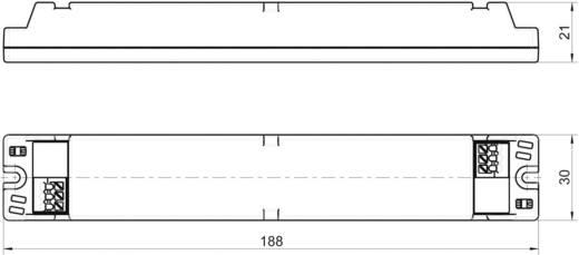 LED-Trafo, LED-Treiber Konstantspannung, Konstantstrom LT40-24/1460 1.46 A 10 - 24 V/DC nicht dimmbar, PFC-Schaltkreis