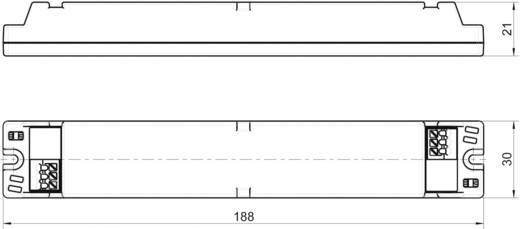 LED-Trafo, LED-Treiber Konstantspannung, Konstantstrom LT40-48/700 0.7 A 22 - 48 V/DC nicht dimmbar, PFC-Schaltkreis,