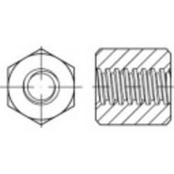 Écrou hexagonal à filetage trapézoïdal TOOLCRAFT 158214 N/A 24 mm 500 mm Acier 1 pc(s)