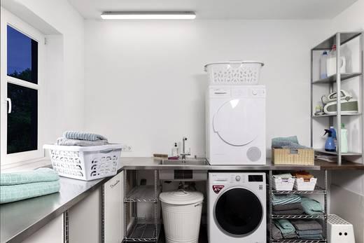 led feuchtraum wannenleuchte led led fest eingebaut 18 w. Black Bedroom Furniture Sets. Home Design Ideas