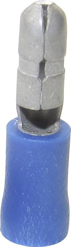 Cosse cylindrique femelle TRU COMPONENTS 1583026 1.50 mm² 2.50 mm² Ø de la broche: 4 mm partiellement isolé bleu 1 pc(s