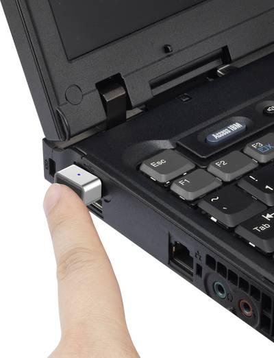 "USB fingerprint reader Renkforce""Windows Hello"""