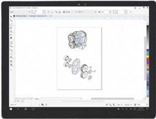 Corel Draw Technical Suite 2017 Windows Cad Software Kaufen