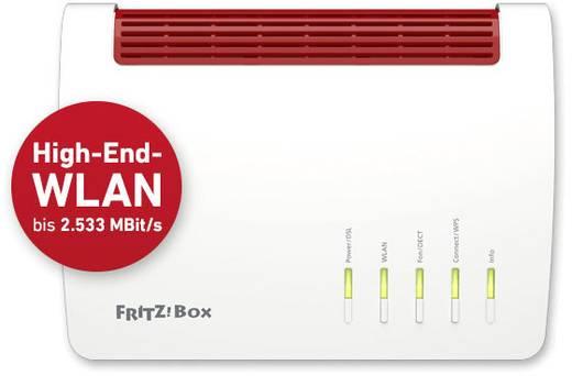 AVM FRITZ!Box 7590 A/CH WLAN Router mit Modem Integriertes Modem: VDSL, ADSL 2.4 GHz, 5 GHz 2.533 MB/s