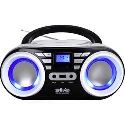 FM rádio s CD prehrávačom Silva Schneider MPC 17.4 USB, UKW, CD, USB, čierna