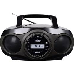 N/A Silva Schneider MPC 17.7 BT, CD, AUX, Bluetooth, USB, čierna, sivá