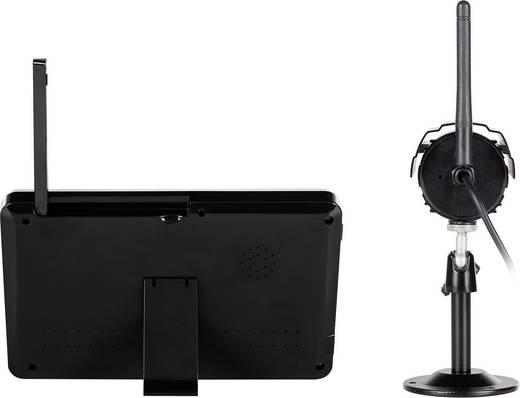 funk berwachungskamera set 4 kanal mit 1 kamera 640 x 480 pixel 2 4 ghz smartwares cs87dvr. Black Bedroom Furniture Sets. Home Design Ideas