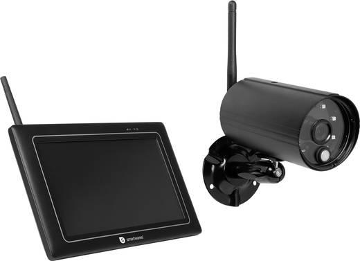 funk berwachungskamera set 4 kanal mit 1 kamera 1080 pixel 2 4 ghz smartwares cs97dvr kaufen. Black Bedroom Furniture Sets. Home Design Ideas