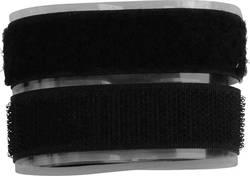 Lepicí pásek se suchým zipem TRU COMPONENTS 908-330-Bag, (d x š) 500 mm x 20 mm, černá, 1 pár