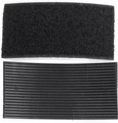 klettband zum aufkleben haft und flauschteil extrastark l x b 100 mm x 50 mm schwarz fastech. Black Bedroom Furniture Sets. Home Design Ideas