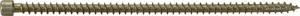 Außensechskant Stahl verzinkt 10St SWG Holzschraube 8mm x  280mm T-Profil