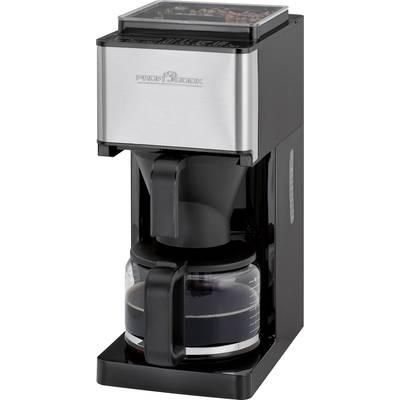 Kaffeemaschine Profi Cook PC-KA 1138 Schwarz/Edelstahl Fassungsvermögen Tassen=10 mit Mahl Preisvergleich