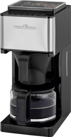 kaffeemaschine profi cook pc ka 1138 schwarz edelstahl fassungsverm gen tassen 10 mit mahlwerk. Black Bedroom Furniture Sets. Home Design Ideas