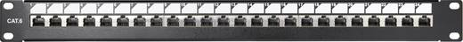 24 Port Netzwerk-Patchpanel Renkforce KSV-PATCH-24PL CAT 6 1 HE