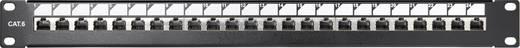 Renkforce KSV-PATCH-24PL 24 Port Netzwerk-Patchpanel CAT 6 1 HE