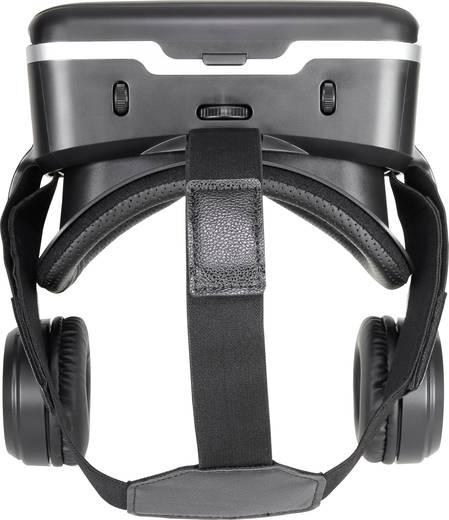 renkforce rf vr2 schwarz virtual reality brille mit headset kaufen. Black Bedroom Furniture Sets. Home Design Ideas