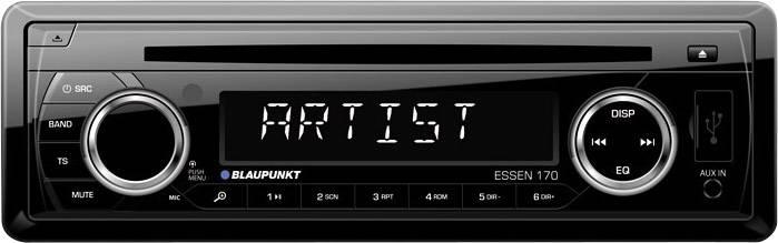 Bluetooth/®-Freisprecheinrichtung Anschluss f/ür Lenkradfernbedienung Tuner Blaupunkt Bamberg 470 DABBT Autoradio DAB