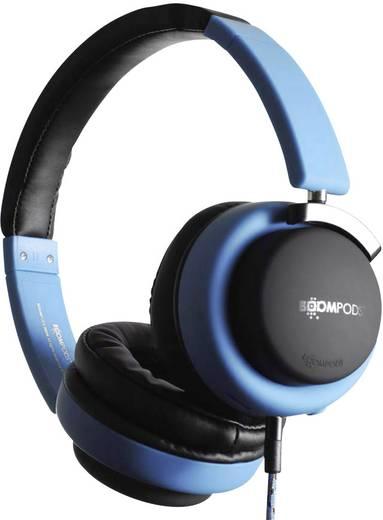 Boompods Hush Reise Kopfhörer On Ear Faltbar, Headset, Noise Cancelling Blau