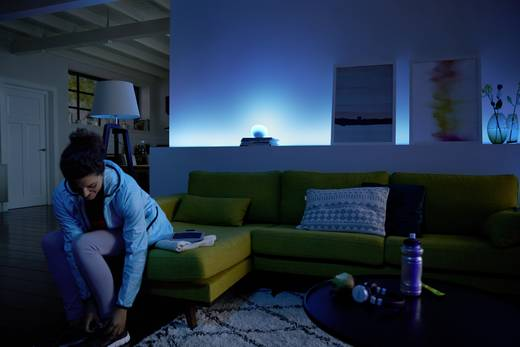 Philips Lighting Hue LED-Leuchtmittel (2er-Set) white and color ambiance E27 10 W RGBW