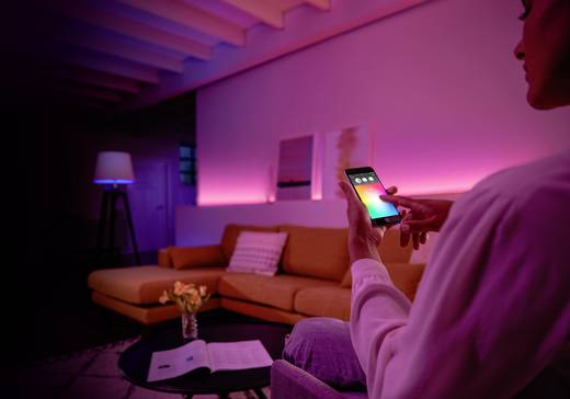 Philips Lighting Hue Starterkit White and Color Ambiance E14 6.5 W RGBW