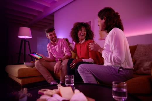 Philips Lighting Hue LED-Leuchtmittel (2er-Set) White and color ambiance E14 6.5 W RGBW