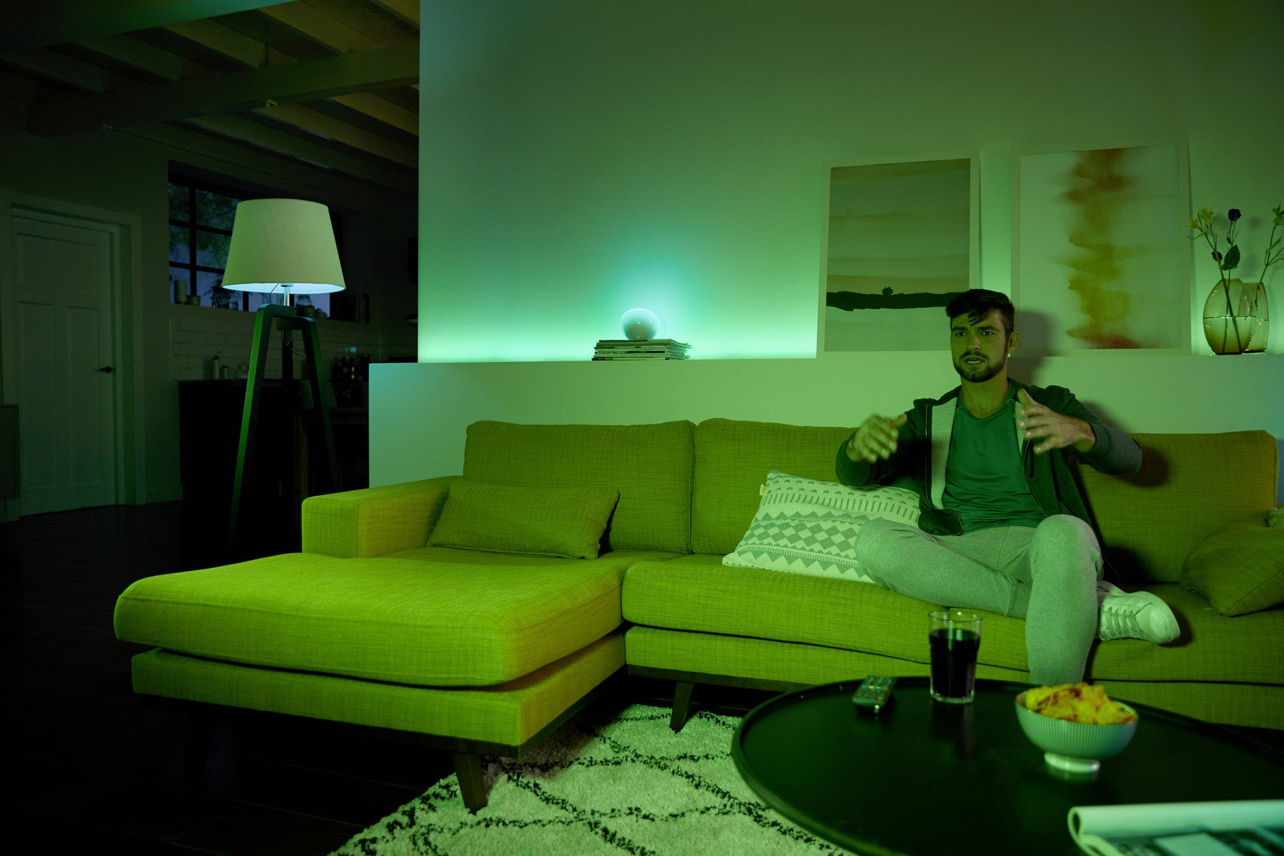 Hue Lampen E14 : Philips lighting hue led leuchtmittel er set white and color