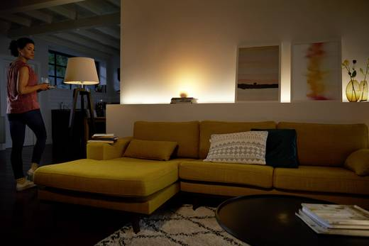 Philips Lighting Hue Starterkit white and color ambiance EEK: A+ (A++ - E) E27 10 W RGBW