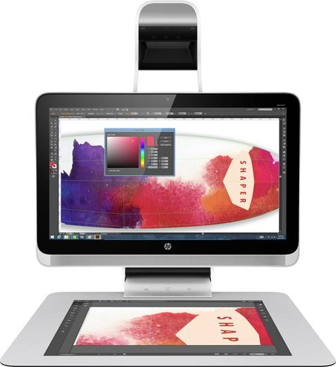 HP Sprout Pro G1 58.4 cm (23 Zoll) All-in-One PC Intel Core i7 8 GB 1024 GB Nvidia GeForce GT945A Windows® 10 Pro Silb