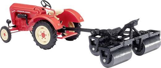 busch 50010 h0 porsche junior k traktor mit ackerwalze kaufen. Black Bedroom Furniture Sets. Home Design Ideas