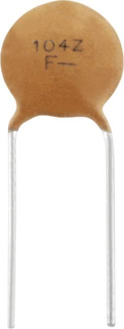 Condensateur céramique THT TRU COMPONENTS TC-K100NF5 100 nF 100 V 20 % Y5V 1 pc(s)