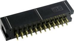 Konektor pre ploché káble TRU COMPONENTS 1589761, raster: 2.54 mm, počet pólov: 24, 1 ks