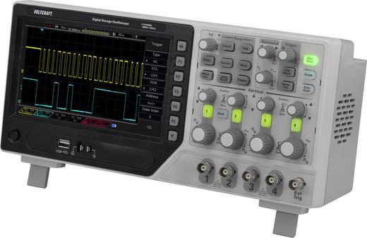 Digital-Oszilloskop VOLTCRAFT DSO-1084E 80 MHz 4-Kanal 1 GSa/s 64 kpts 8 Bit Digital-Speicher (DSO)