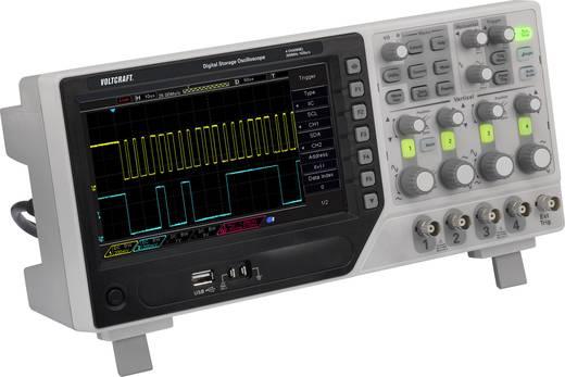 VOLTCRAFT DSO-1204E SE Digital-Oszilloskop 200 MHz 4-Kanal 1 GSa/s 64 kpts Digital-Speicher (DSO)