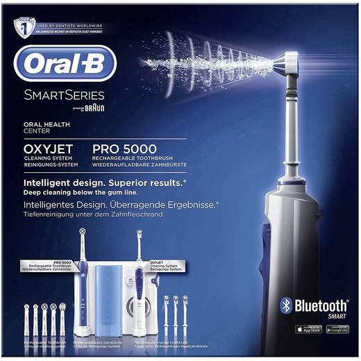 elektrische zahnb rste munddusche oral b pro 5000 smartseries rotierend oszilierend pulsieren. Black Bedroom Furniture Sets. Home Design Ideas