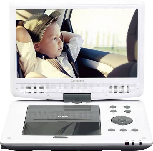 tragbarer dvd player 25 4 cm 10 zoll lenco dvp 1063wh. Black Bedroom Furniture Sets. Home Design Ideas